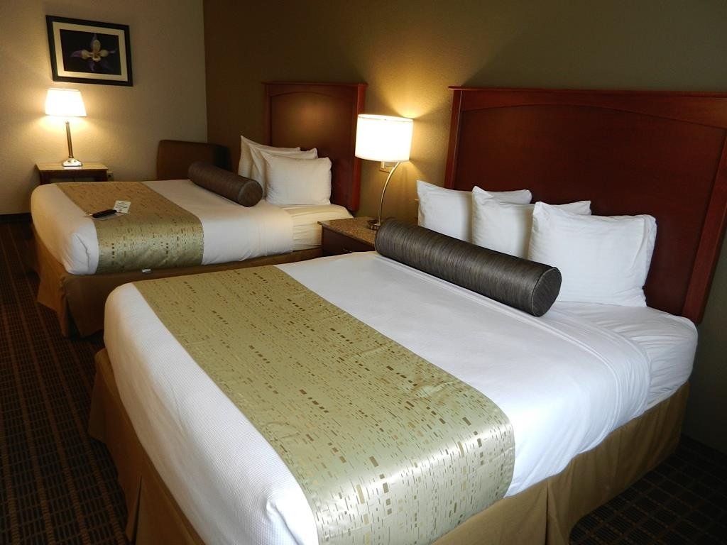 Best Western Plus Peak Vista Inn & Suites - Our double queen rooms are great for traveling families.