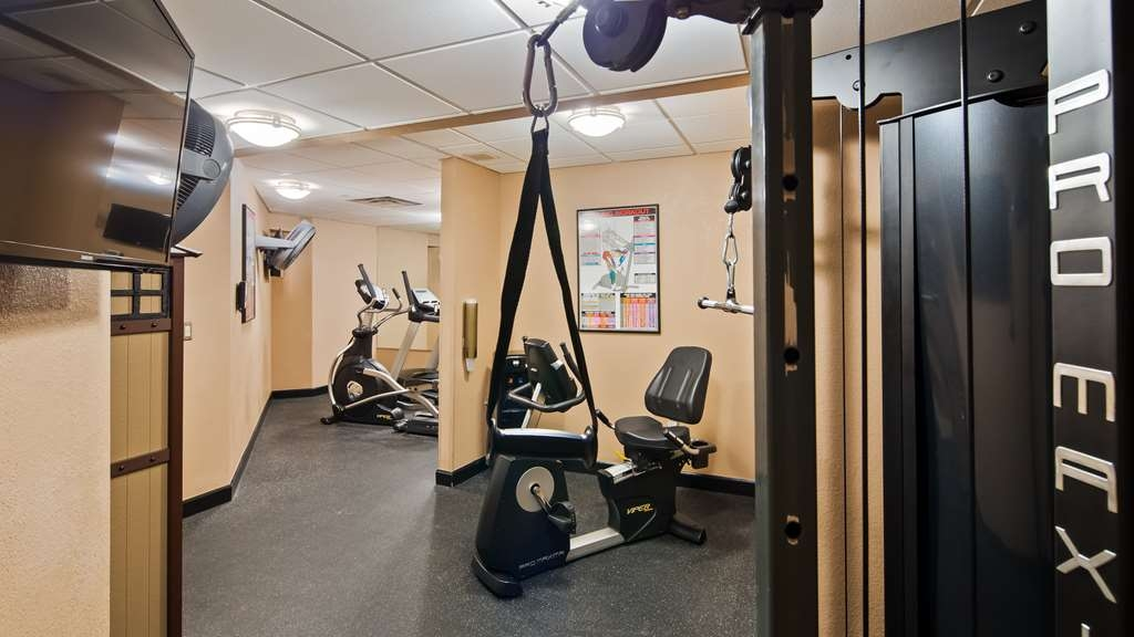 Best Western Plus Peak Vista Inn & Suites - Be sure to take advantage of our fitness center when you stay with us!
