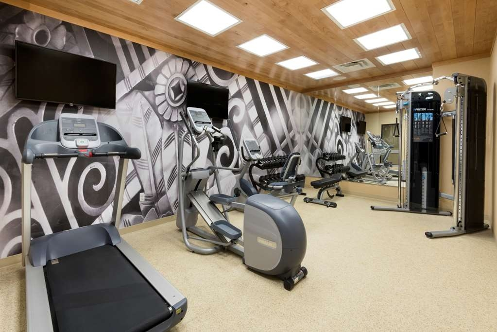 Best Western Plus Hudson Hotel & Suites - Sala fitness