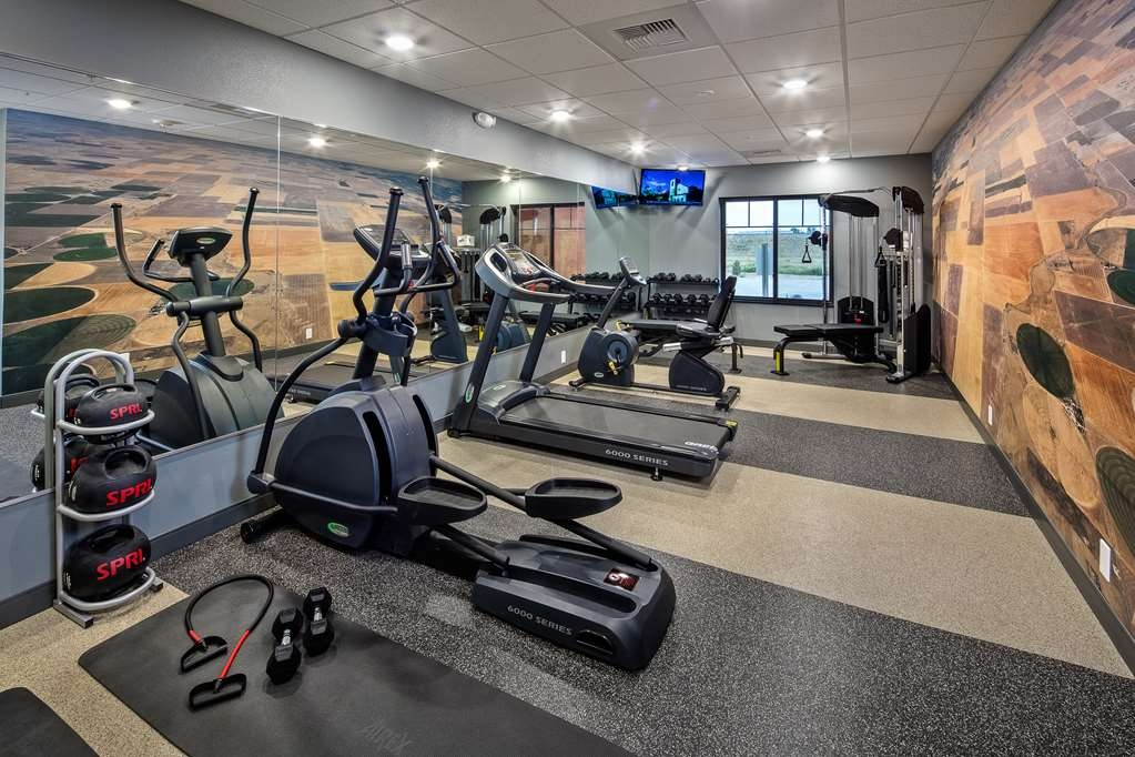 Best Western Plus Overland Inn - Sala fitness