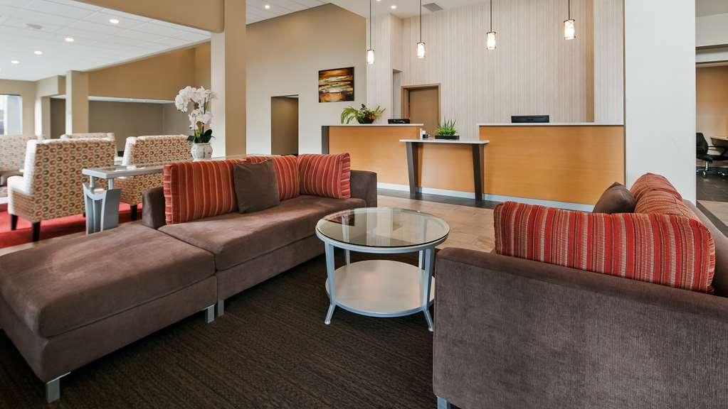 Best Western Plus Burnaby Hotel - Vue du lobby