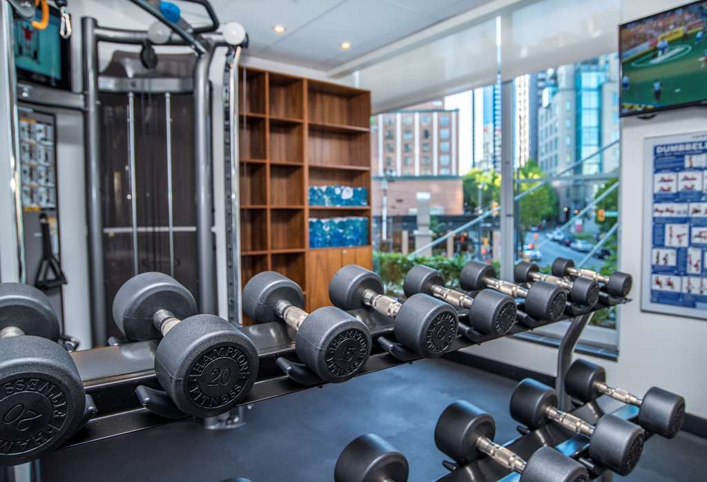 Best Western Plus Chateau Granville Hotel & Suites & Conference Ctr. - Our fitness center offers a range of cardiovascular & strength machines.