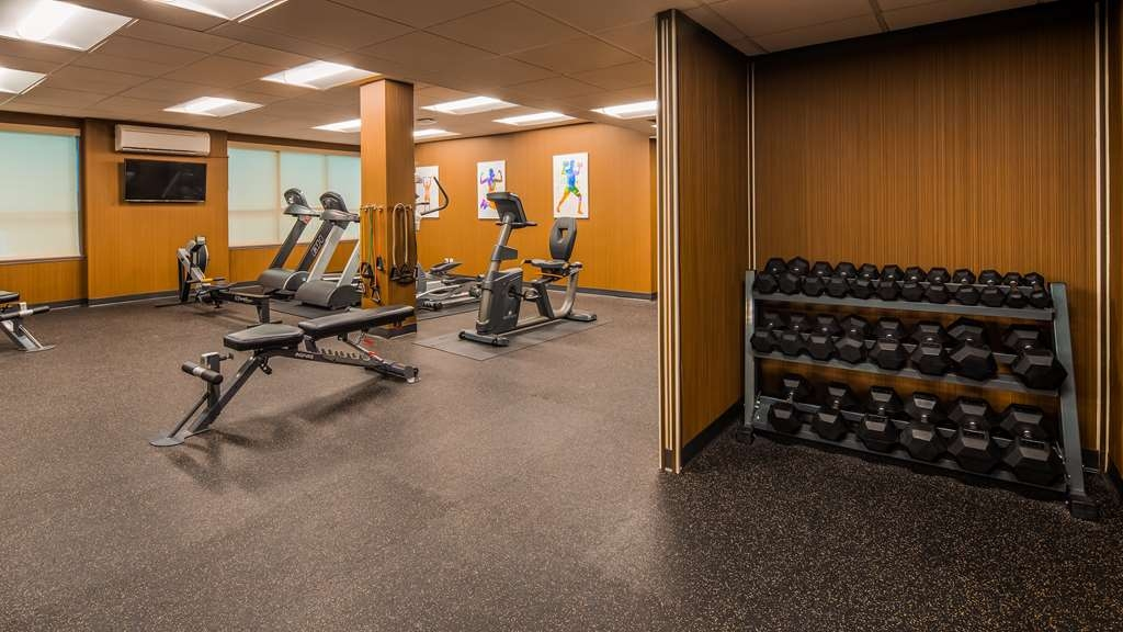 Best Western Plus Carlton Plaza Hotel - Fitnessstudio