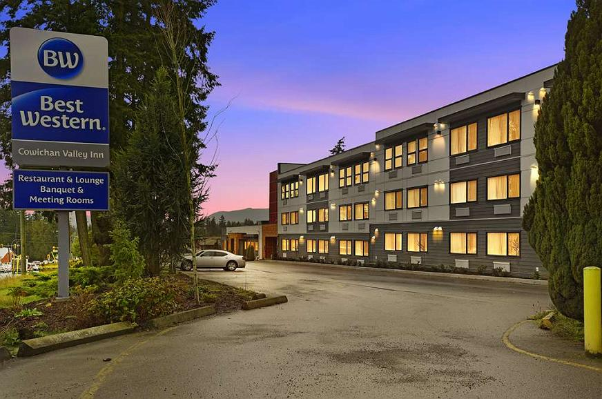 Best Western Cowichan Valley Inn - Vista exterior