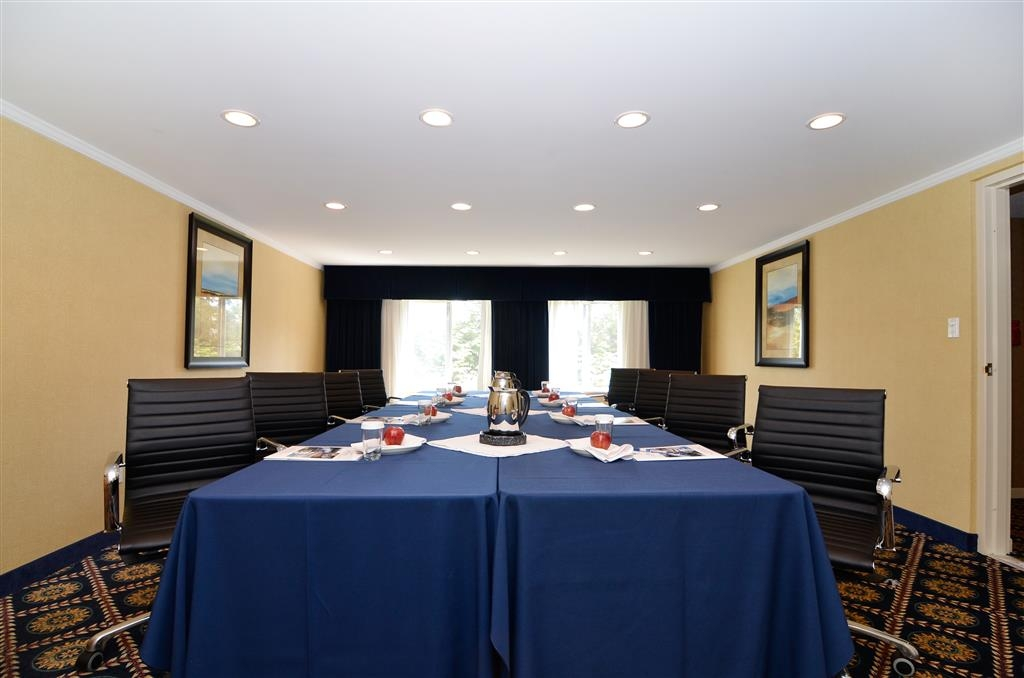 Best Western Plus Regency Inn & Conference Centre - Mount Baker room is approximately 380 square feet of intimate space for corporate or personalized functions.