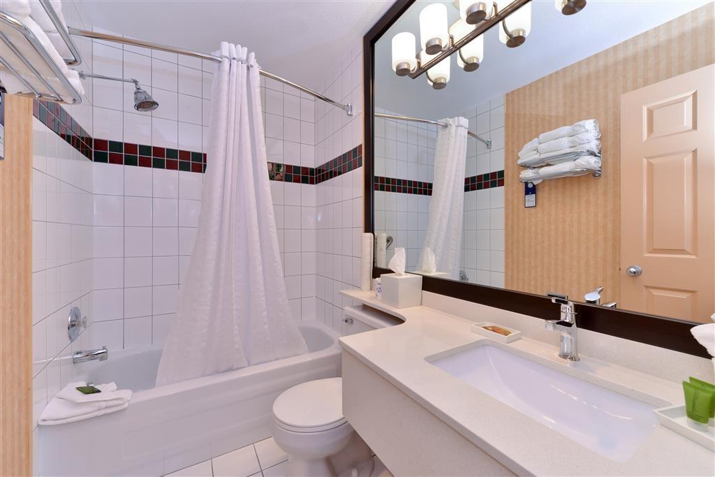 Best Western Plus Regency Inn & Conference Centre - Cuarto de baño de clientes