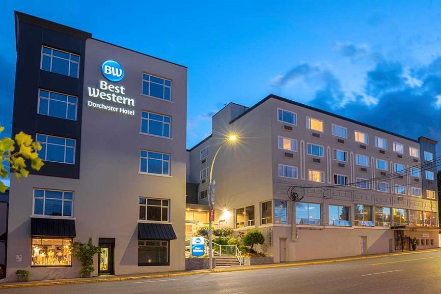 Best Western Dorchester Hotel - Aussenansicht
