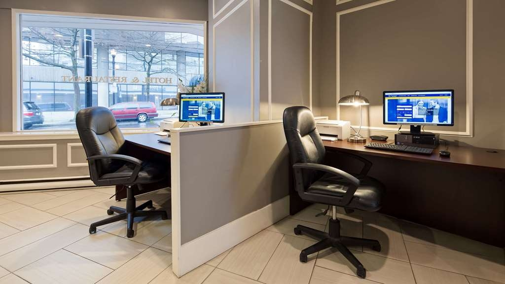 Best Western Dorchester Hotel - Lobby Business Centre- Equipped with Computer and Printer. For business related services such as fax or copy, our front desk staff would be happy to assist. Some costs may apply.
