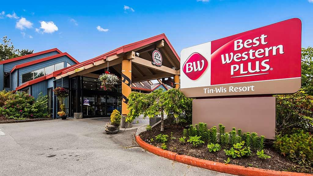 Best Western Plus Tin Wis Resort - Facciata dell'albergo