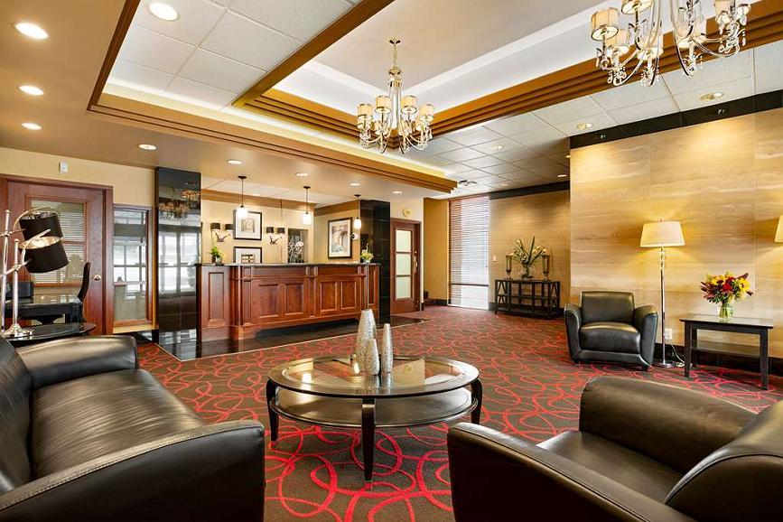 Best Western Plus Columbia River Hotel - Lobby Lounge