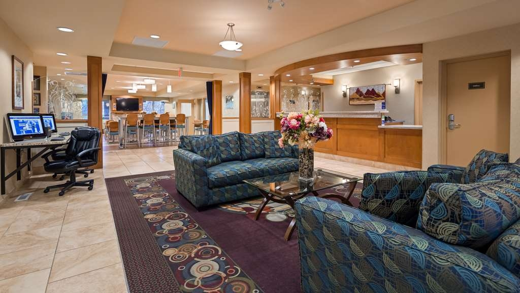 Best Western Plus Chemainus Inn - Vue du lobby