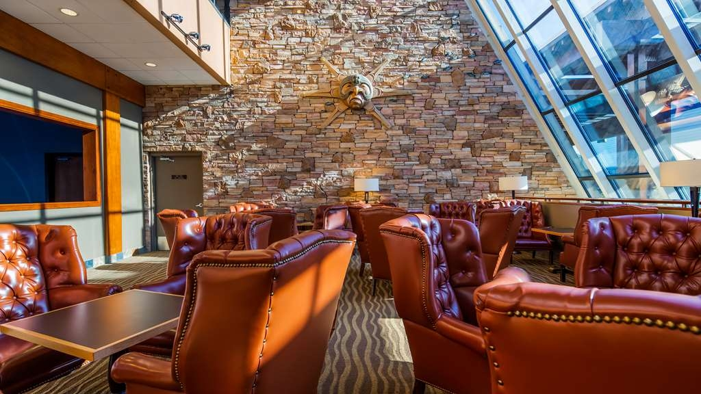 Best Western The Westerly Hotel - Our Fireside Lobby is the perfect spot to relax after a long day of work and travel