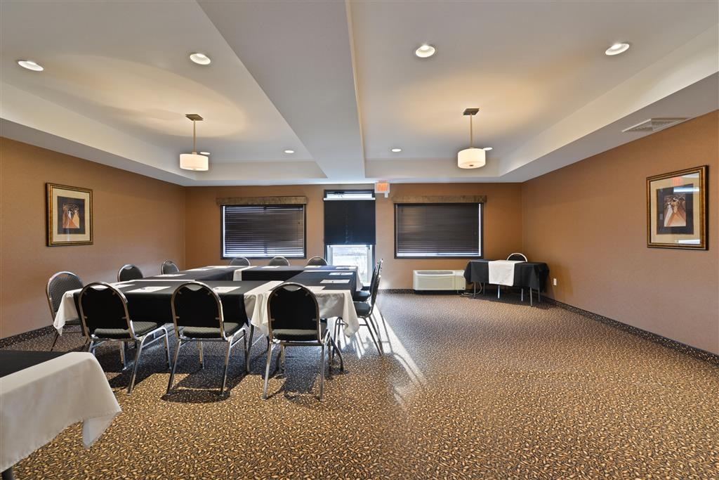 Best Western Cranbrook Hotel - Meeting Room space is approximately 500 square feet and had host up to 40 guest theatre style.