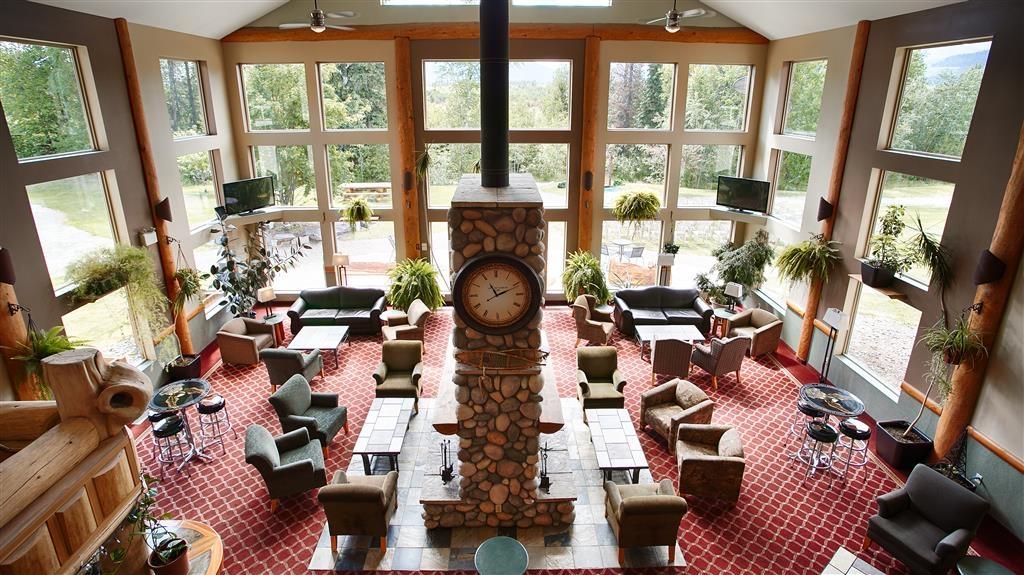 Best Western Plus Valemount Inn & Suites - Vue du lobby