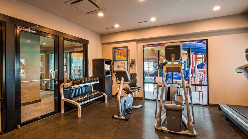Best Western Plus Wine Country Hotel & Suites - Sala fitness