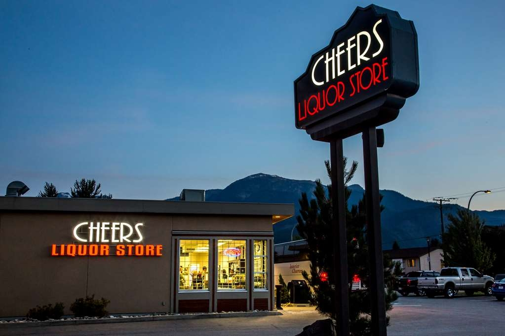 Best Western Plus Revelstoke - Cheers Liquor Store on Laforme located off our lobby