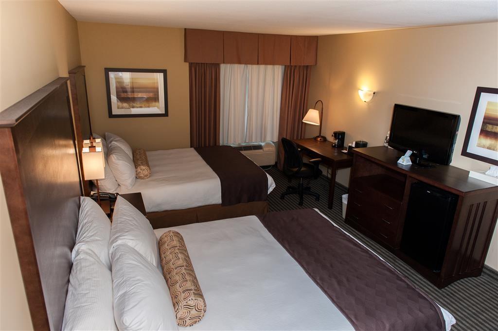 Best Western Maple Ridge Hotel - Gästezimmer mit zwei Queensize-Betten