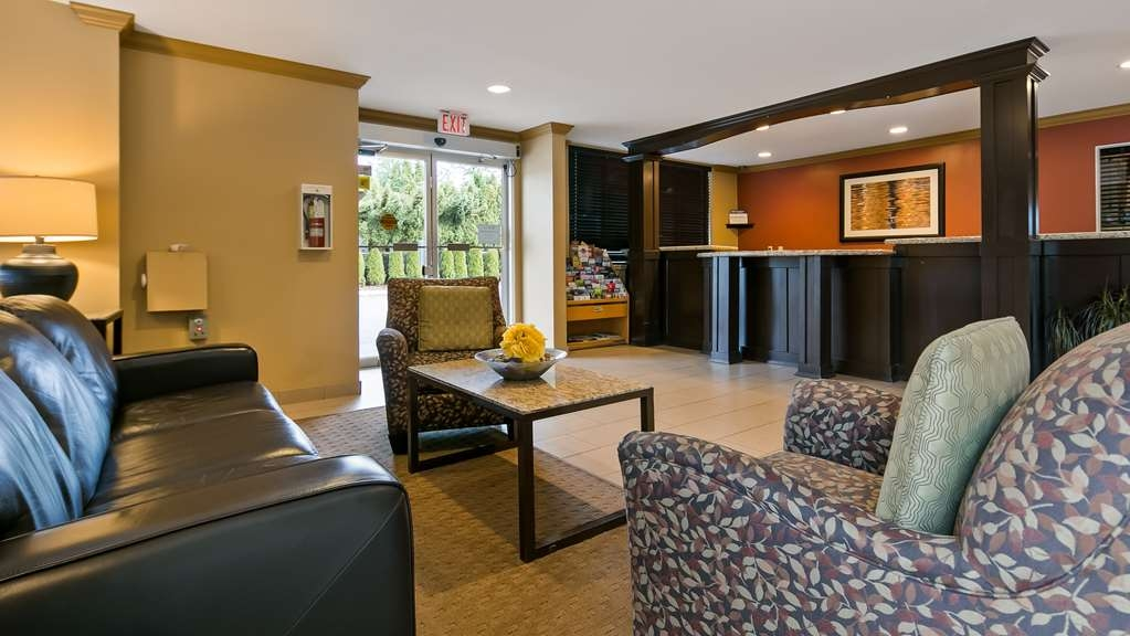 Best Western Maple Ridge Hotel - Vue du lobby