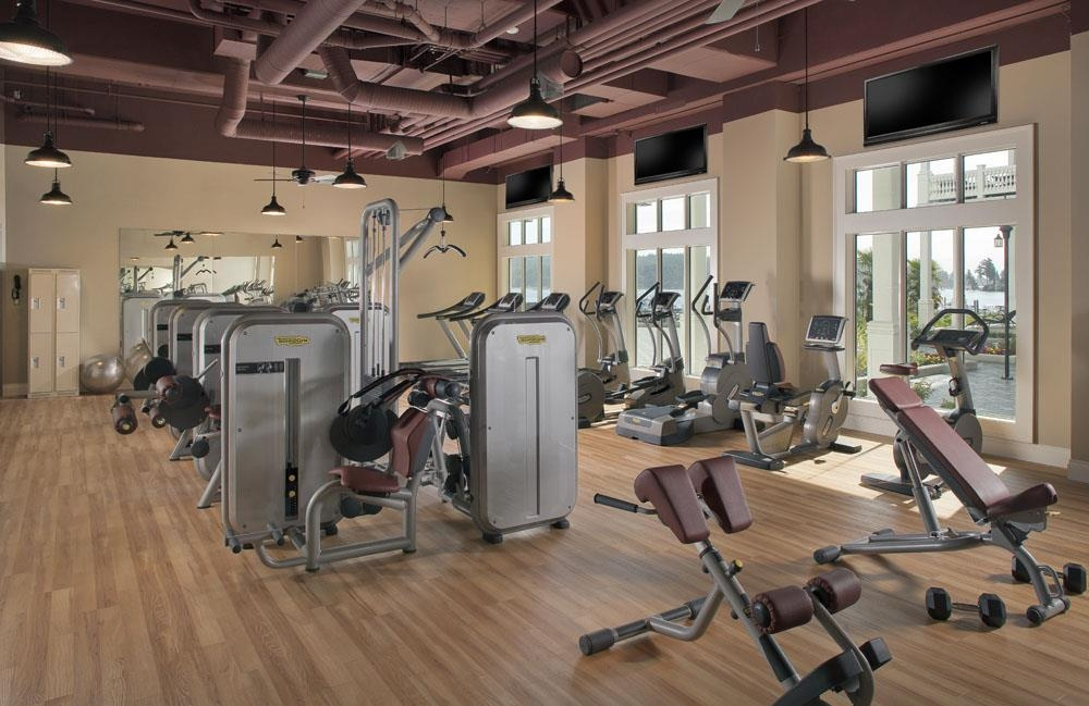 Prestige Oceanfront Resort, BW Premier Collection - Fitness Center with a view. Work out in our state of the art fitness facility while watching the harbour come to life.