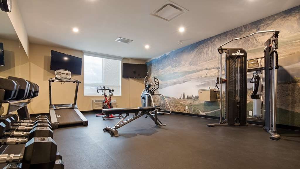 Best Western Plus Merritt Hotel - Fit a workout into your busy day during your stay with the convenience of our fitness center.
