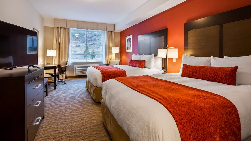 Best Western Plus Merritt Hotel - Our Standard Two Queen Guest Room offers the comforts of home with a few added amenities that will make your stay extra special.