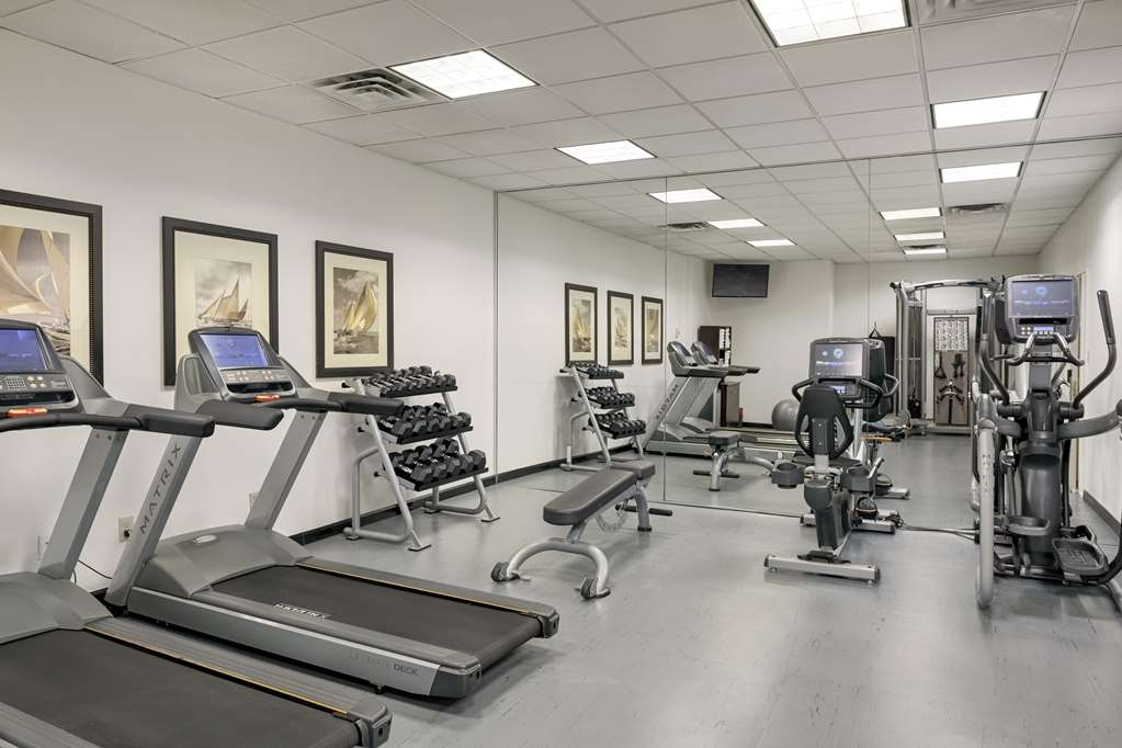Georgian Court Hotel, BW Premier Collection - Newly renovated Fitness Center with Matrix equipment