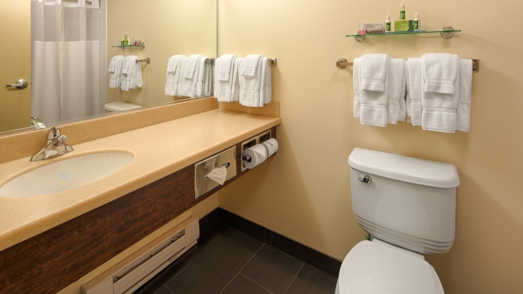 Best Western Thompson Hotel & Suites - Bagno