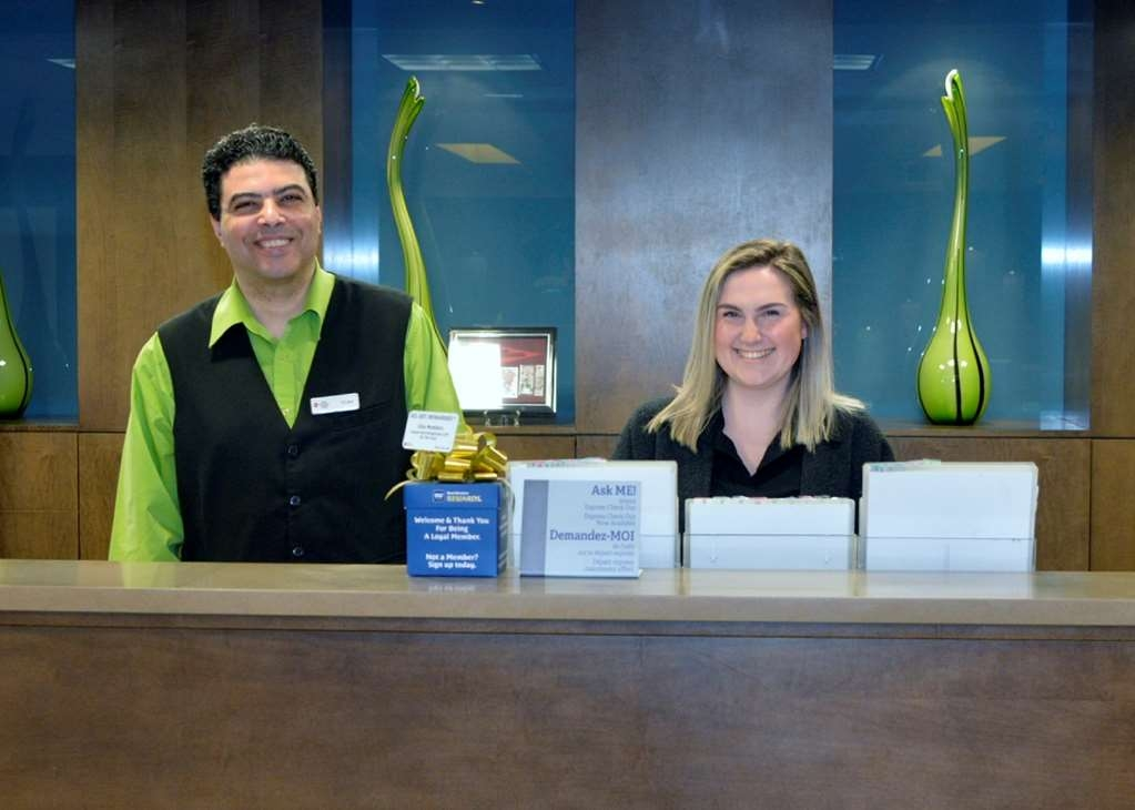 Best Western Plus Winnipeg West - Vista del vestíbulo