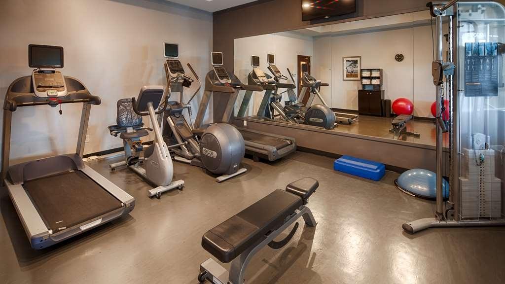 Best Western Plus Winnipeg Airport Hotel - Club de salud