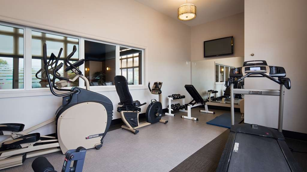 Best Western Plus Moncton - Our fitness center allows you to keep up with your home routine even when you're on the road.