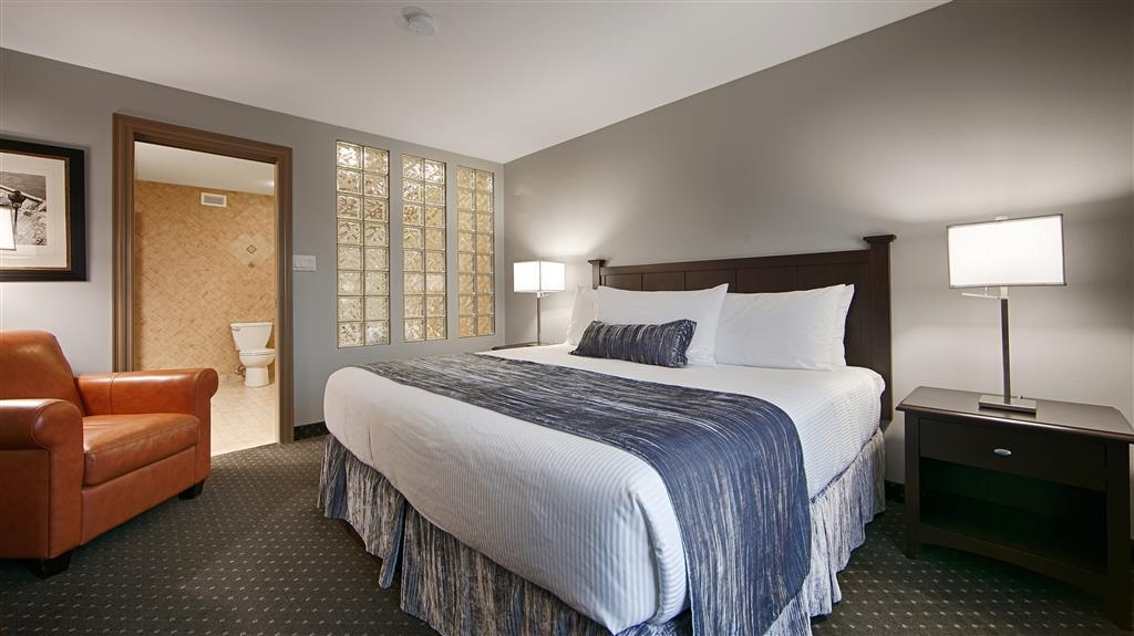 Best Western Plus Woodstock Hotel & Conference Centre - We offer a variety of suite kings some featuring jetted tubs, microwave and refrigerators.