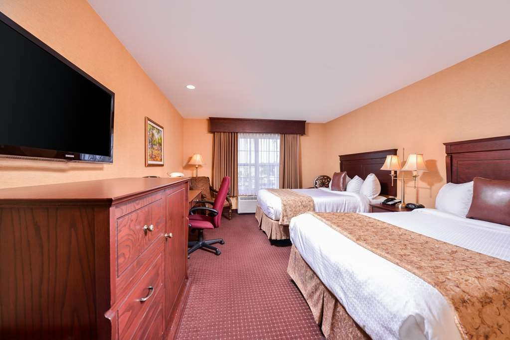 Best Western Plus Fredericton Hotel & Suites - Camera con due letti queen size