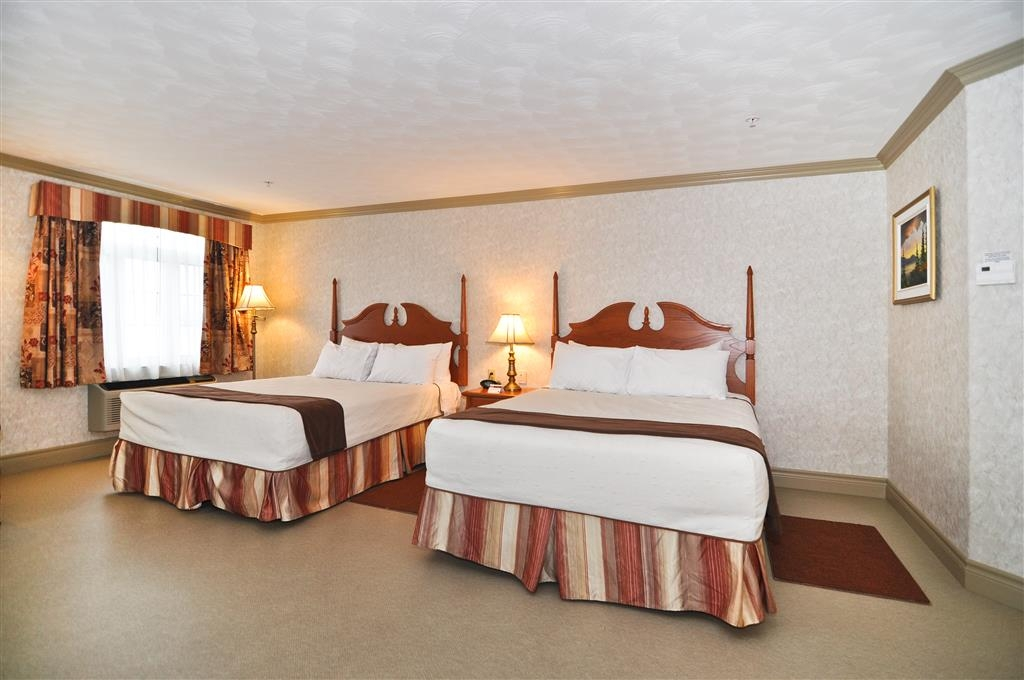 Best Western Plus Edmundston Hotel - Have the perfect family trip in Edmundston, NB and stay in our double queen bedroom.