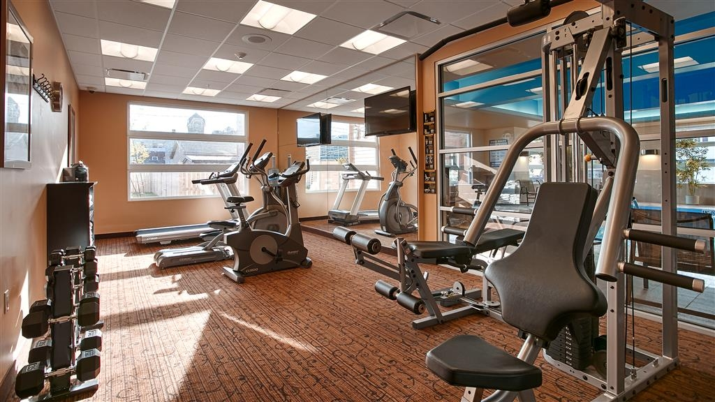 Best Western Plus Bathurst Hotel & Suites - Our fitness center includes a bike, elliptical and universal machine to help you stay fit while on the road.