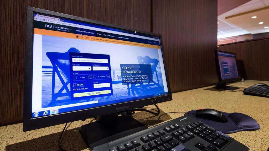 Best Western Plus Bathurst Hotel & Suites - Our business center is available to help prepare emails, travel itineraries and print boarding passes.