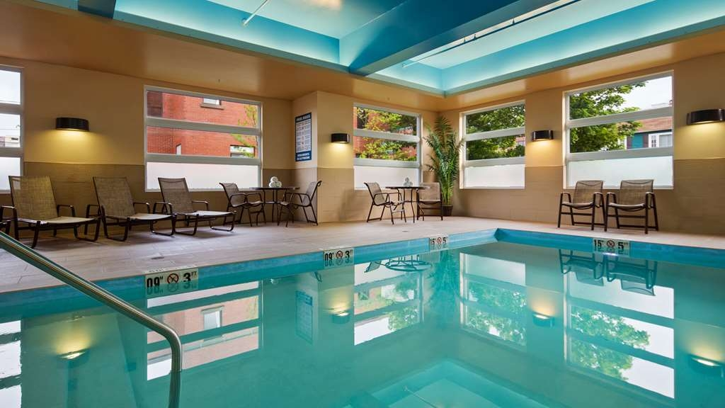Best Western Plus Bathurst Hotel & Suites - Don't let the weather stop you from jumping in, our indoor heated pool open all year-round.