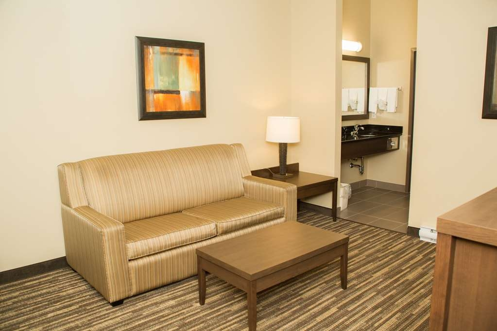 Best Western Plus Dartmouth Hotel & Suites - Use the sofabed in our one king bed suite for extra sleeping space without the cost of an additional room.