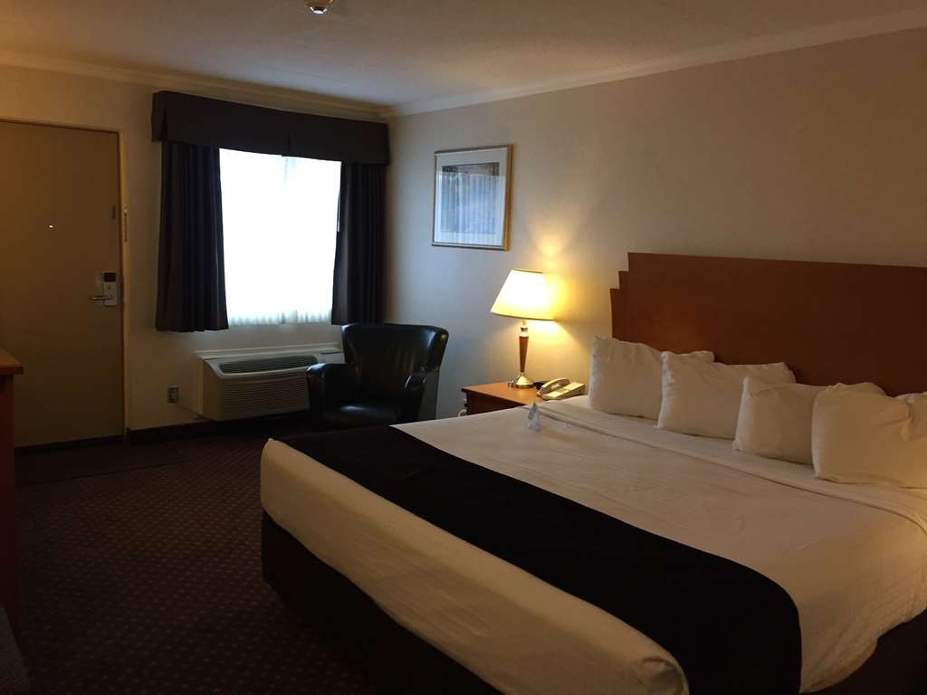 Best Western Thunder Bay Crossroads - Standard King room. - We have 6 of these room types. 5 on the 2nd floor, and 1 on the first. This IS pet friendly