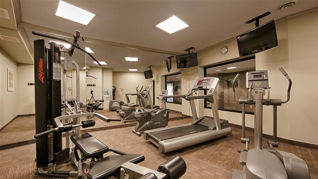 Best Western Plus Guildwood Inn - Maintaining your workout regime is easy in our fitness center.