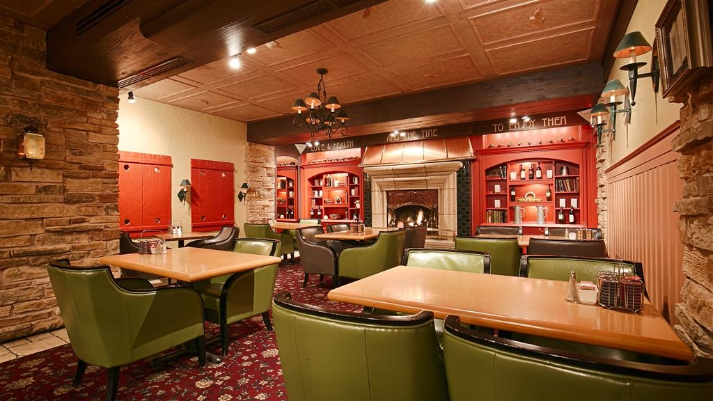 Best Western Fireside Inn - The contemporary atmosphere of our breakfast area is a perfect location to start the day.