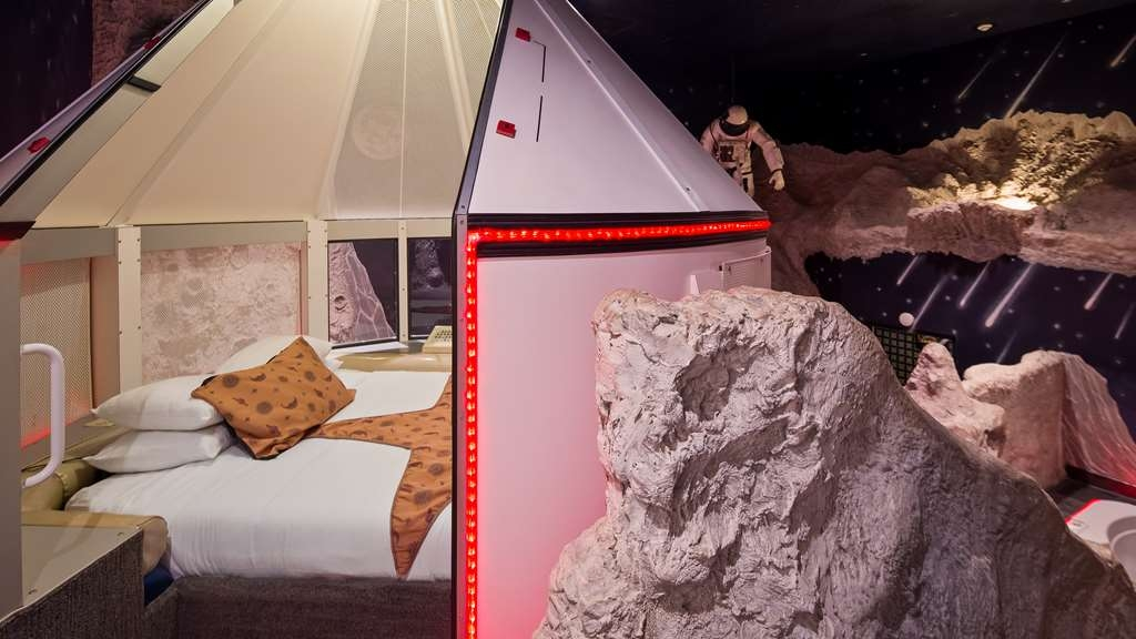 Best Western Fireside Inn - Sleep in a Spaceship in our Tranquility Base Fantasy Suite.