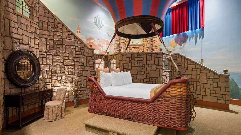 Best Western Fireside Inn - Sleep in the Basket of a Hot Air Balloon in our Flights of Fantasy Suite.