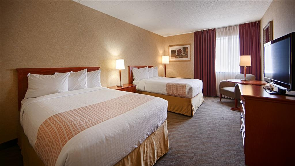 Best Western North Bay Hotel & Conference Centre - Chambre avec deux lits doubles