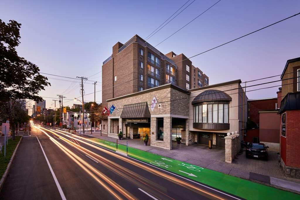 Best Western Plus Ottawa Downtown Suites - Located at 377 O'Connor Street. Intersection of O'Connor and Gladstone.