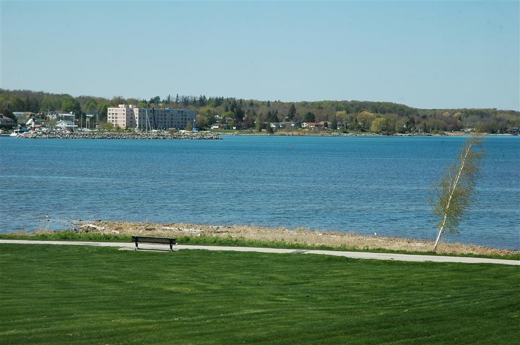 Best Western Inn On The Bay - The beautiful view of Georgian Bay from the bedroom window of the two room suite.