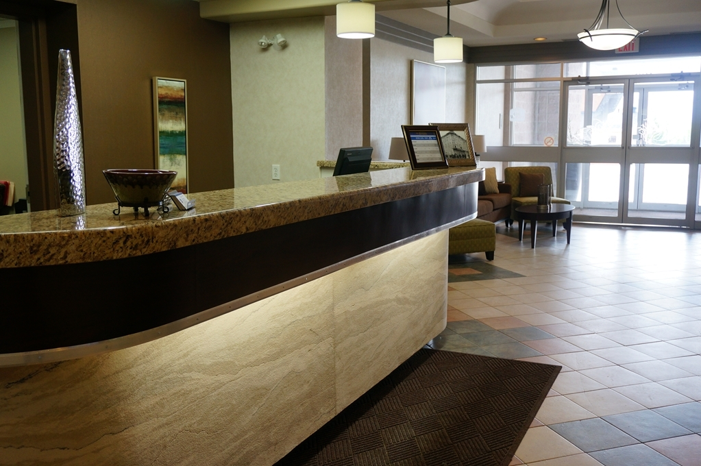Best Western Swan Castle Inn - reception