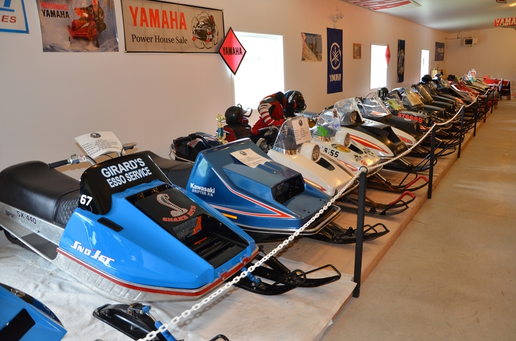 Best Western Swan Castle Inn - The snowmobile museum houses antique snowmobiles from local collectors as well as from other communities.