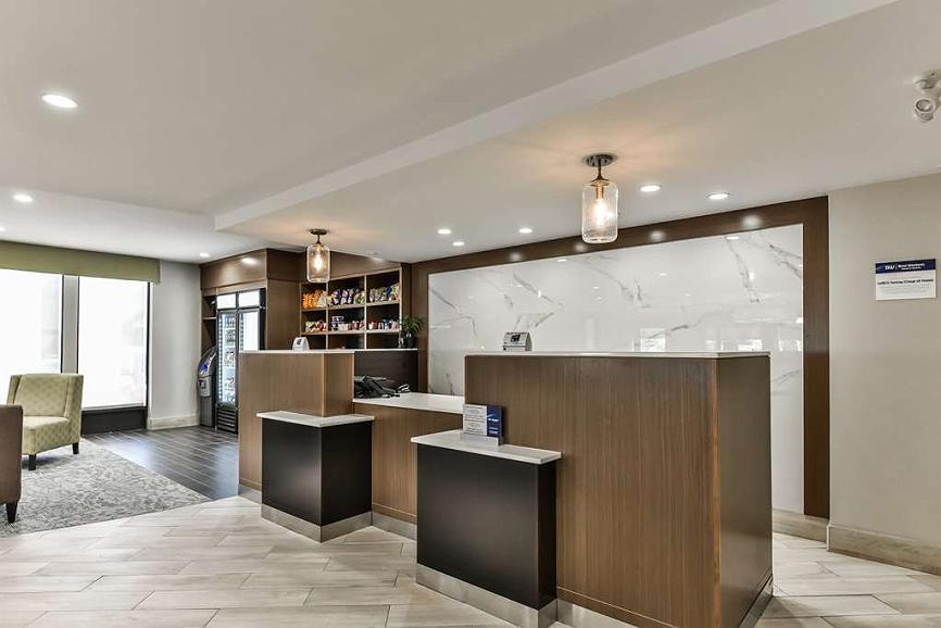 Best Western Plus Cambridge Hotel - Vue du lobby