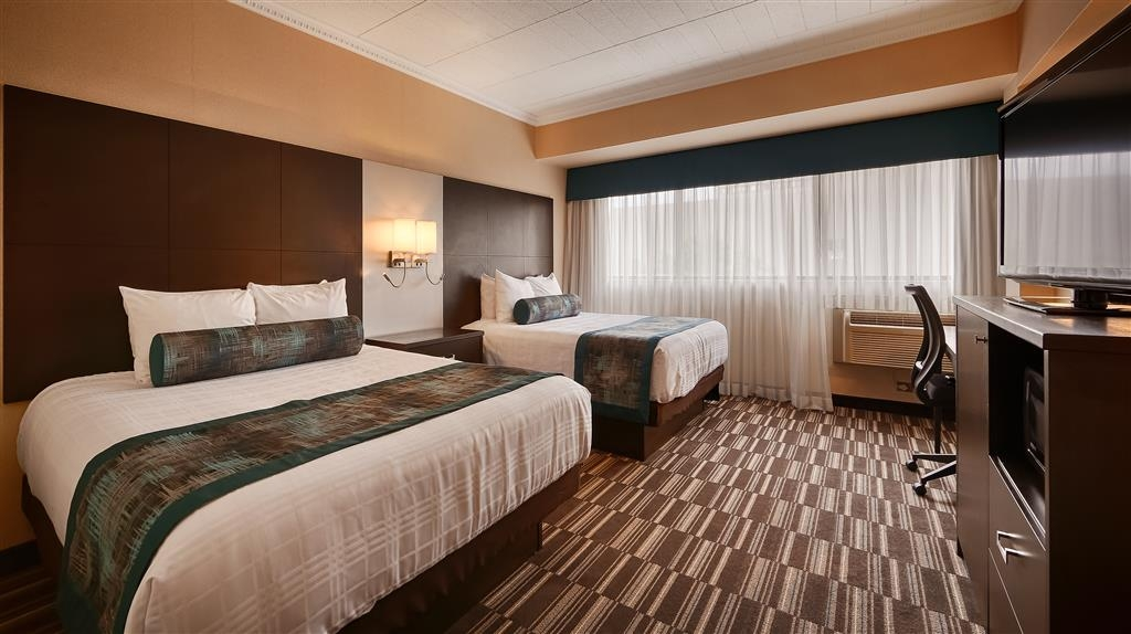 Best Western Downtown Sudbury Centreville - Enjoy a night in this room with two queen beds.