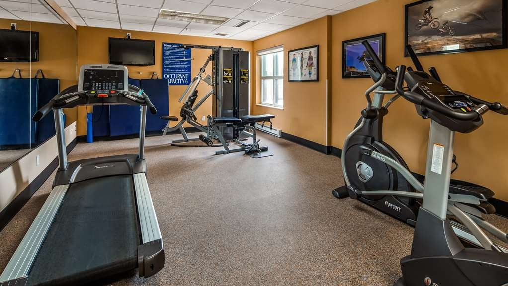 Best Western Plus Executive Inn - Fitnessstudio